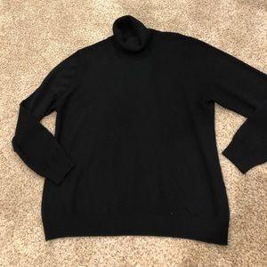 Neiman Marcus Cashmere turtleneck sweater 2X EUC